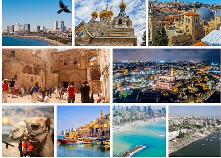 Resultado de imagen para turismo israel collage